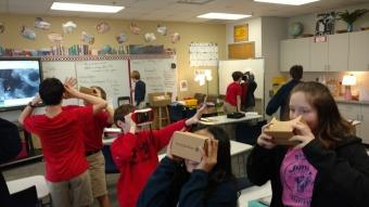 Virtual Reality of Planets